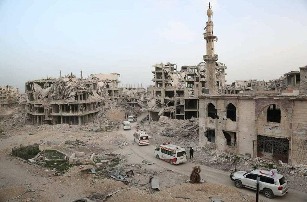 SOS Ghouta, Syrië