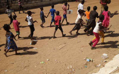 The children of Gambia